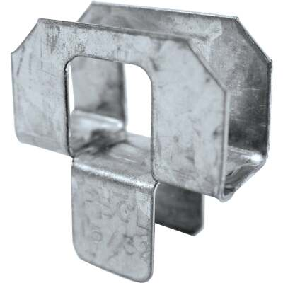 Simpson Strong-Tie 15/32 In. Galvanized Steel 20 ga Plywood Clip