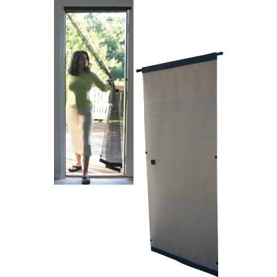 Snavely Kimberly Bay 37-1/2 In. W x 81 In. H Single Instant Door Screen