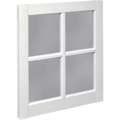 Northview Window 22 In. x 29 In. PVC 4-Lite Barn Sash