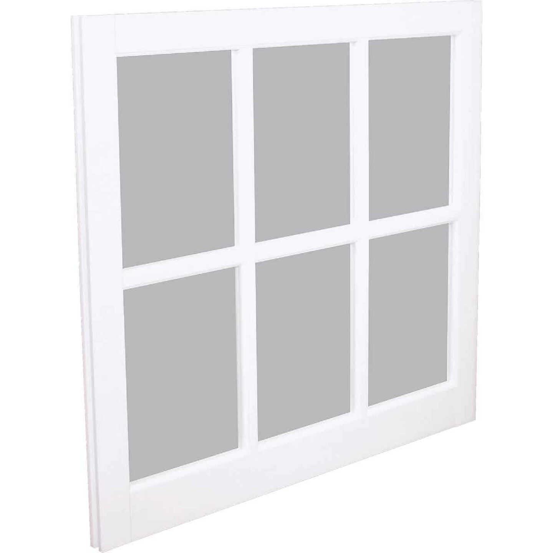 Northview Window 31-5/16 In. x 29 In. PVC 6-Lite Barn Sash Image 1