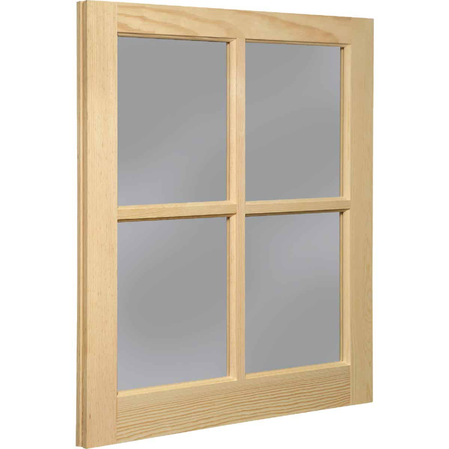 Northview Window 22 In. x 29 In. Wood 4-Lite Barn Sash Image 1