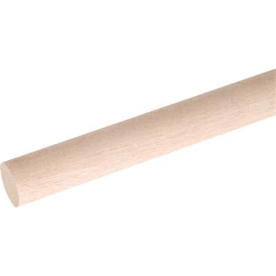 Waddell 1-1/8 In. x 72 In. Hardwood Dowel Rod