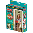 Magic Mesh 39 In. W x 83 In. H Magnetic Single Door Retractable Door Screen Image 1