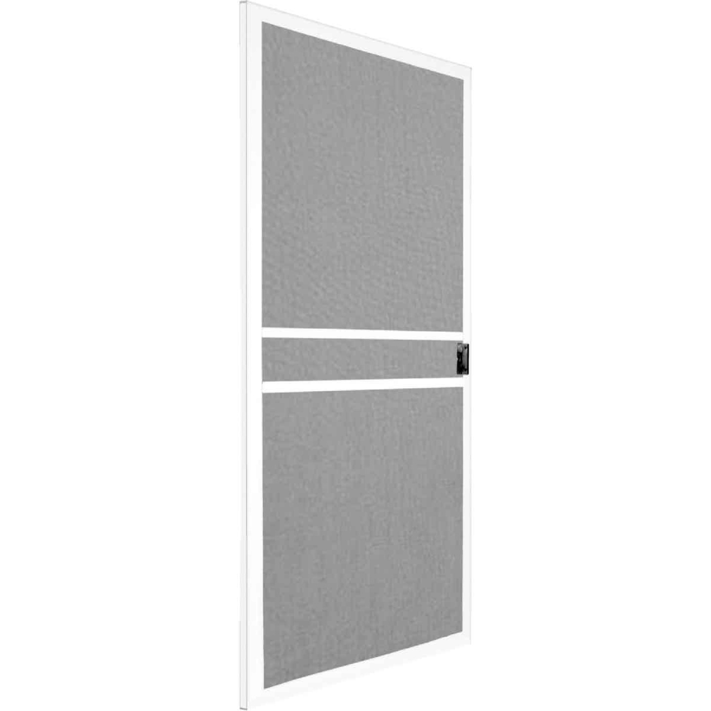 Precision Branson 36 In. White Steel Replacement Patio Door Screen Image 1