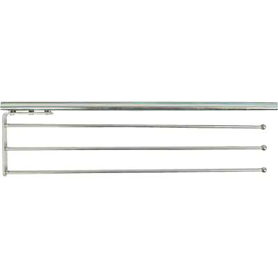 Knape & Vogt Real Solutions Heavy-Duty 18 In. Chrome Towel Bar