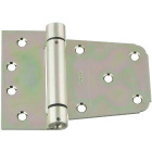 National 3-1/2 In. Zinc Heavy-Duty Spring Gate Hinge Image 1