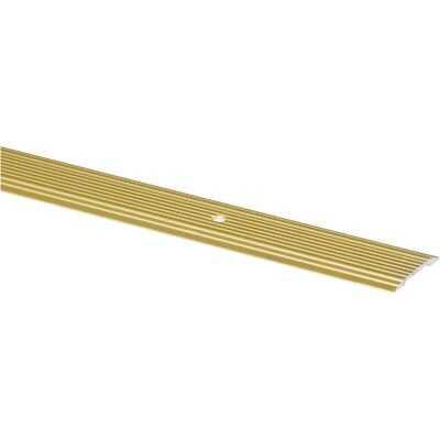 M-D Brass Satin 1-1/4 In. x 3 Ft. Aluminum Seam Binder