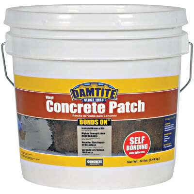Damtite BondsOn 12 Lb. Gray Ready-to-Use Vinyl Concrete Patch
