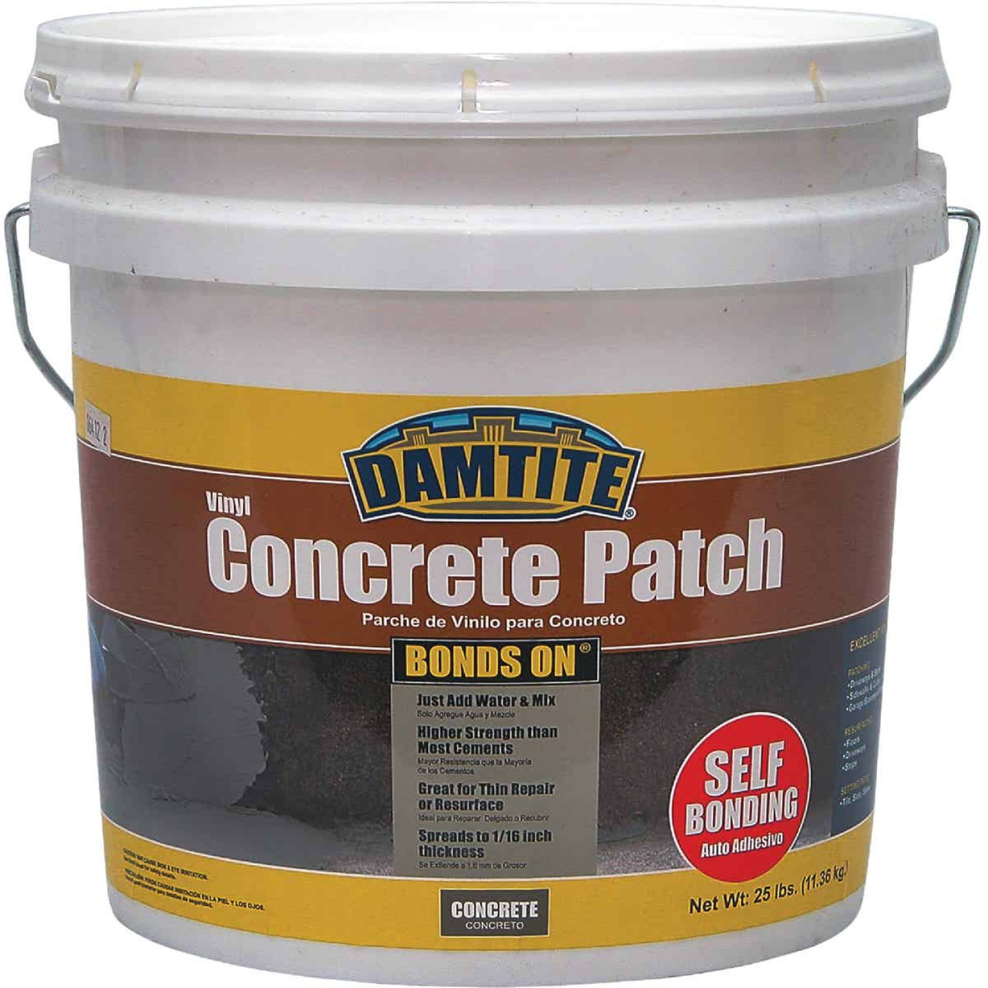 Damtite BondsOn 25 Lb. Gray Ready-to-Use Vinyl Concrete Patch Image 1