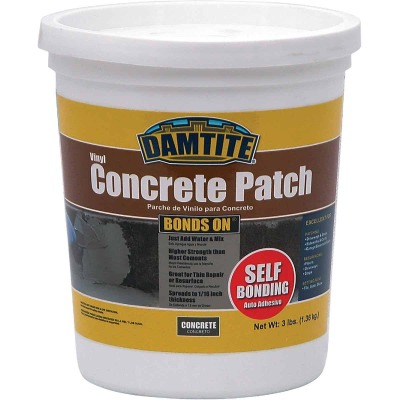 Damtite BondsOn 3 Lb. Gray Ready-to-Use Vinyl Concrete Patch
