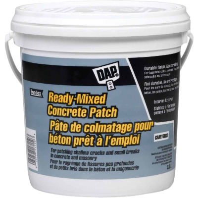 Dap Brand 1 Gal. Pre Mixed Concrete Patch, Gray