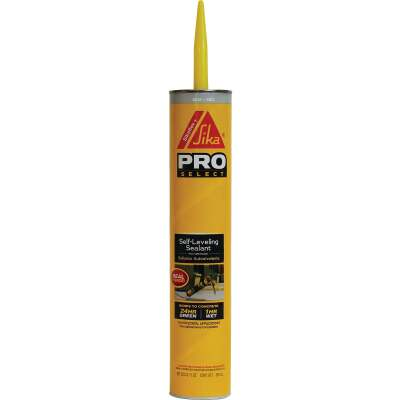 Sikaflex Self-Leveling Sealant 29 Oz Gray Concrete Sealant