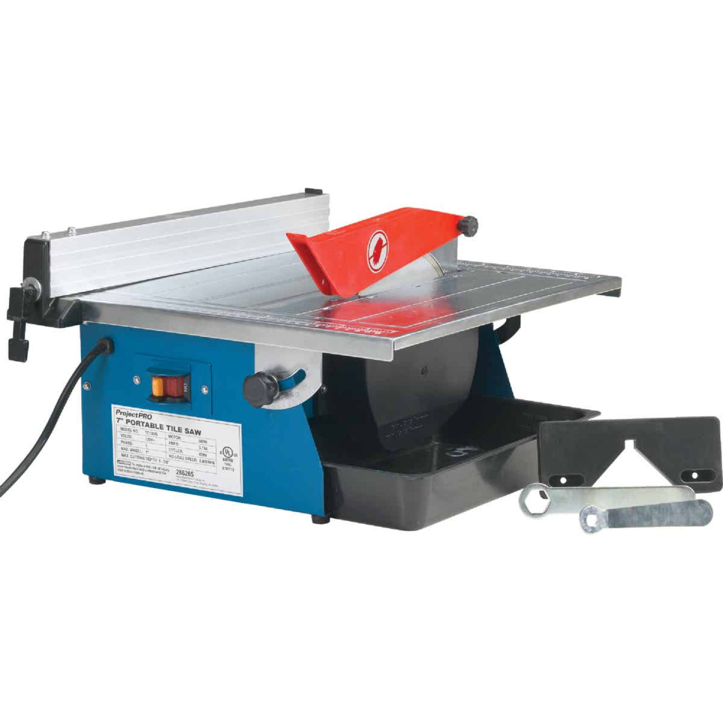 Project Pro 7 In. Portable Tile Saw Image 1