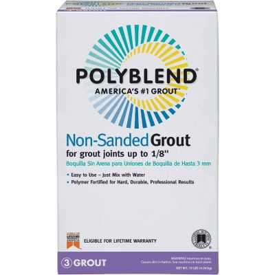 Custom Building Products Polyblend 10 Lb. Sahara Tan Non-Sanded Tile Grout
