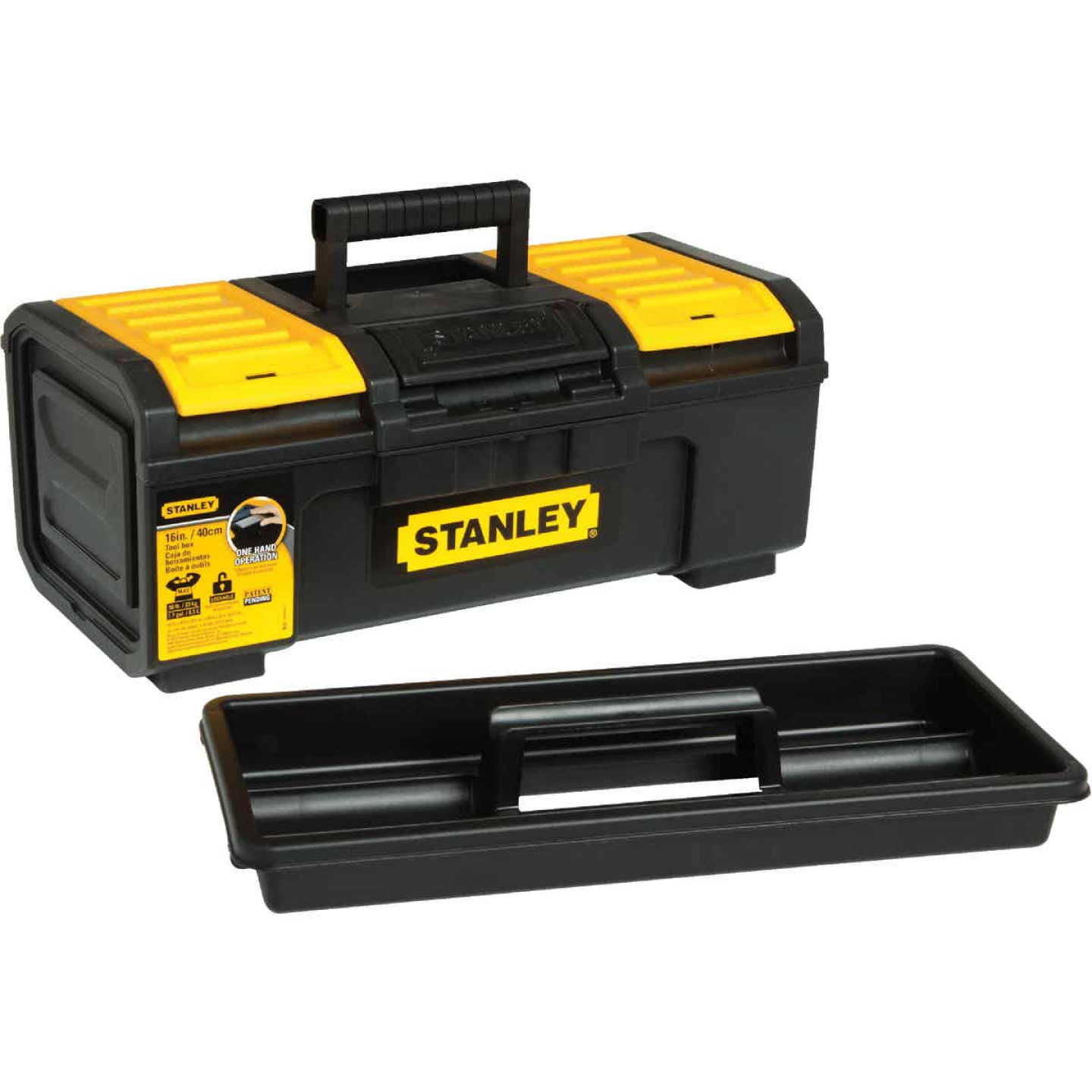 Stanley 16 In. Auto Latch Toolbox Image 1