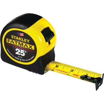 Stanley FatMax 25 Ft. Classic Tape Measure with 11 Ft. Standout
