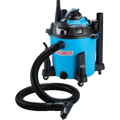Channellock 12 Gal. 5.0-Peak HP Wet/Dry Vacuum with Blower