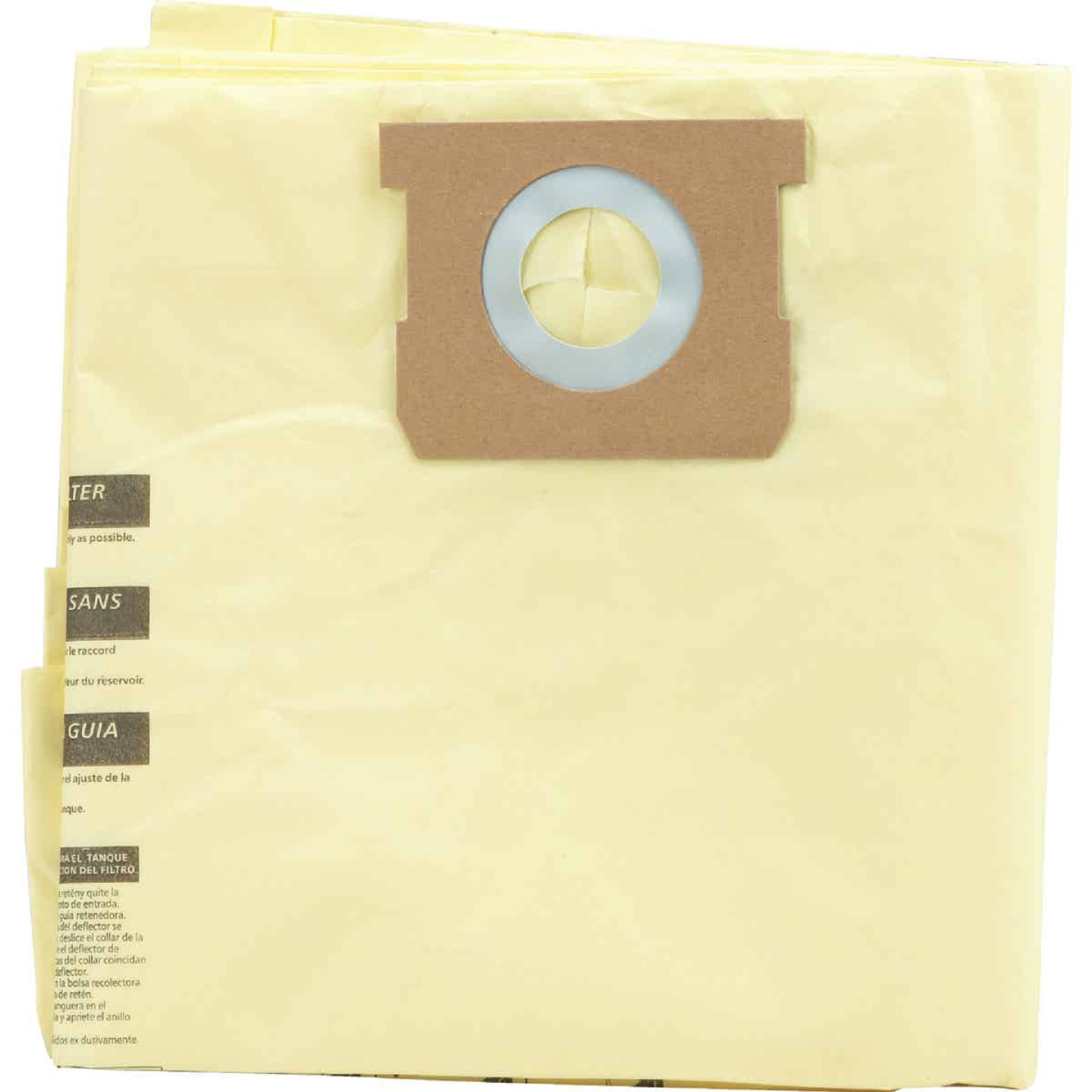 Channellock Paper High Efficiency 12 to 16 Gal. Filter Vacuum Bag (3-Pack) Image 1