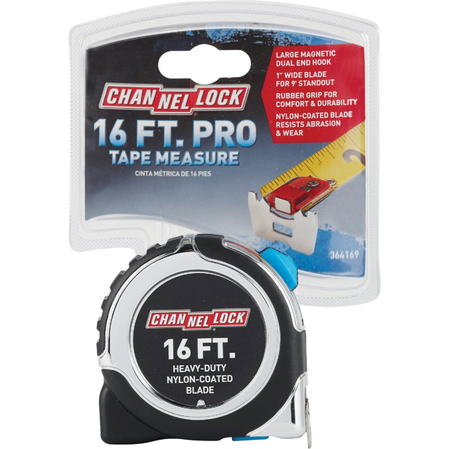 Channellock 16 Ft. Professional Tape Measure Image 2