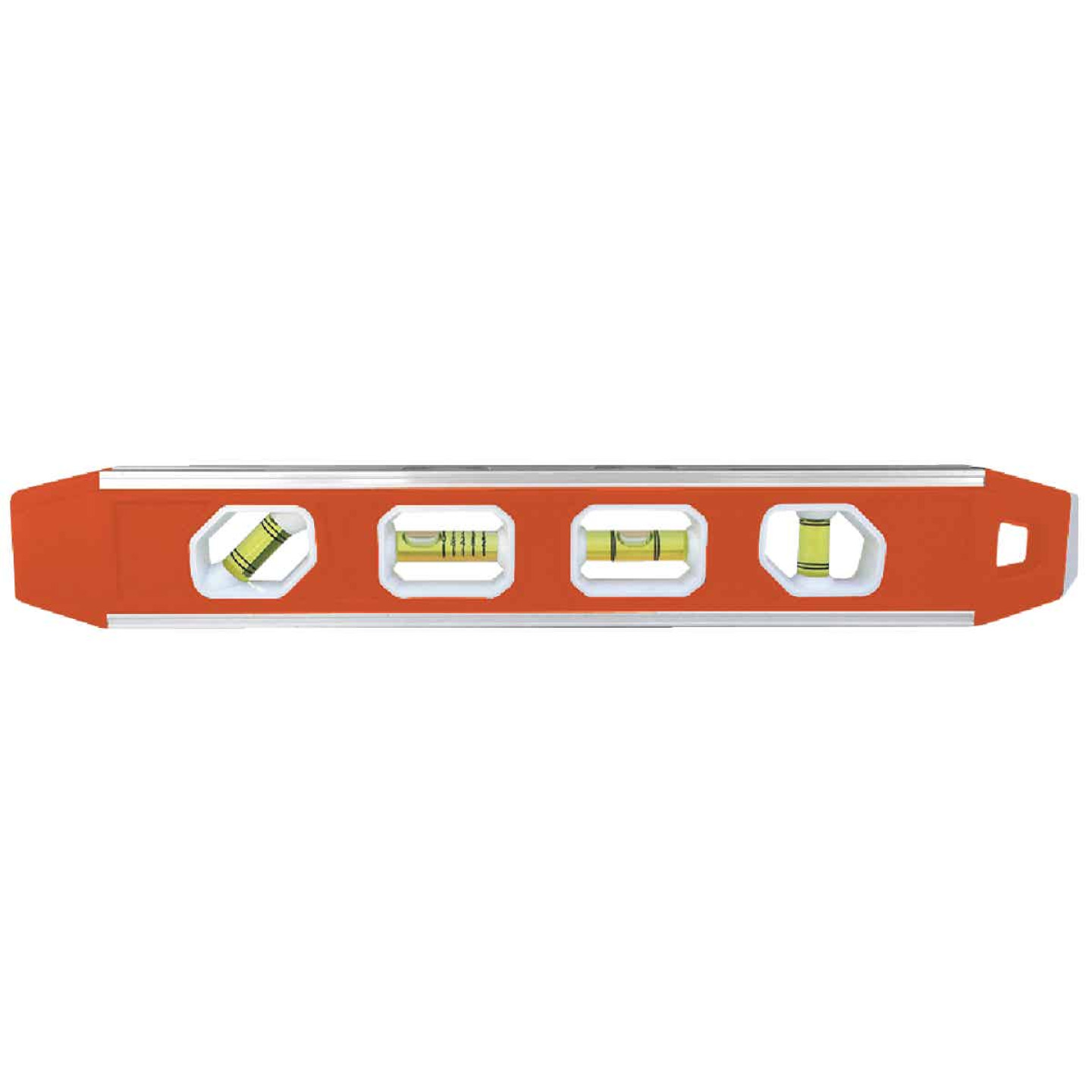 Johnson Level 12 In. Aluminum Reinforced Magnetic Torpedo Level Image 1