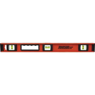 Johnson Level 24 In. Aluminum Heavy-Duty I-Beam Level