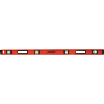 Johnson Level 48 In. Aluminum Heavy-Duty I-Beam Level
