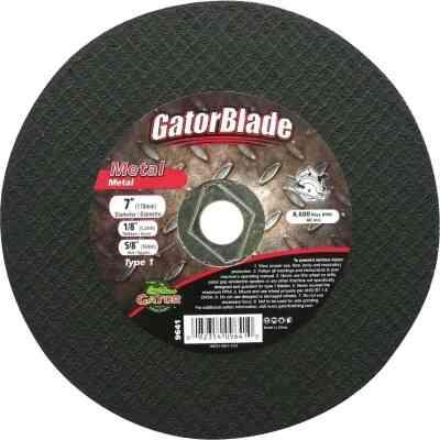 Gator Blade Type 1 7 In. x 1/8 In. x 5/8 In. Metal Cut-Off Wheel