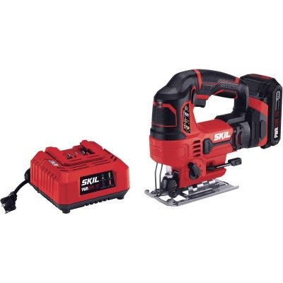 SKIL PWRCore 20 Volt Lithium-Ion 2.0 Ah Cordless Jig Saw Kit