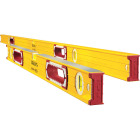 Stabila 78 In. Aluminum Jamber Box Level & 24 to 40 In. Extendable Level Set Image 1