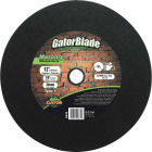 Gator Blade Type 1 14 In. x 1/8 In. x 20 mm Masonry Cut-Off Wheel Image 1