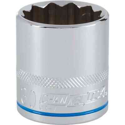 Channellock 1/2 In. Drive 30 mm 12-Point Shallow Metric Socket