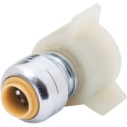 SharkBite 1/4 In. x 7/8 In. Push-to-Connect Ballcock Toilet Adapter Image 1