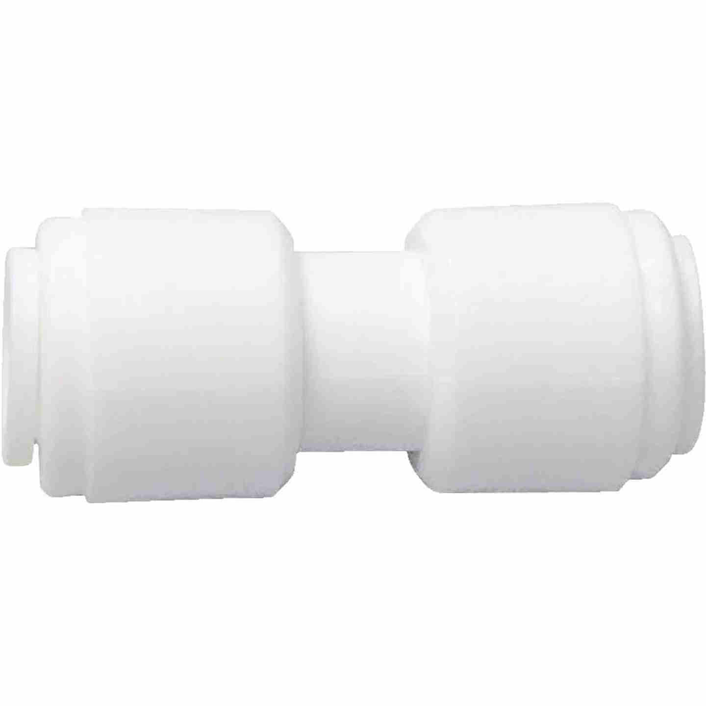 Watts 5/16 In. x 5/16 In. OD Tubing Quick Connect Plastic Coupling Image 1
