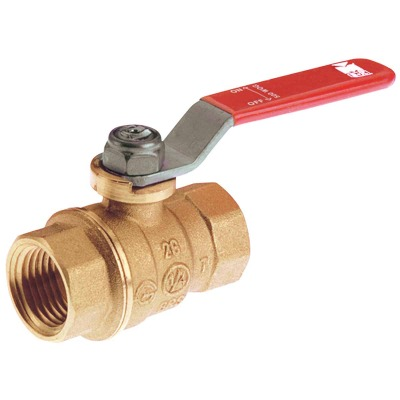 ProLine 1/4 In. FIP Forged Brass Full Port Ball Valve