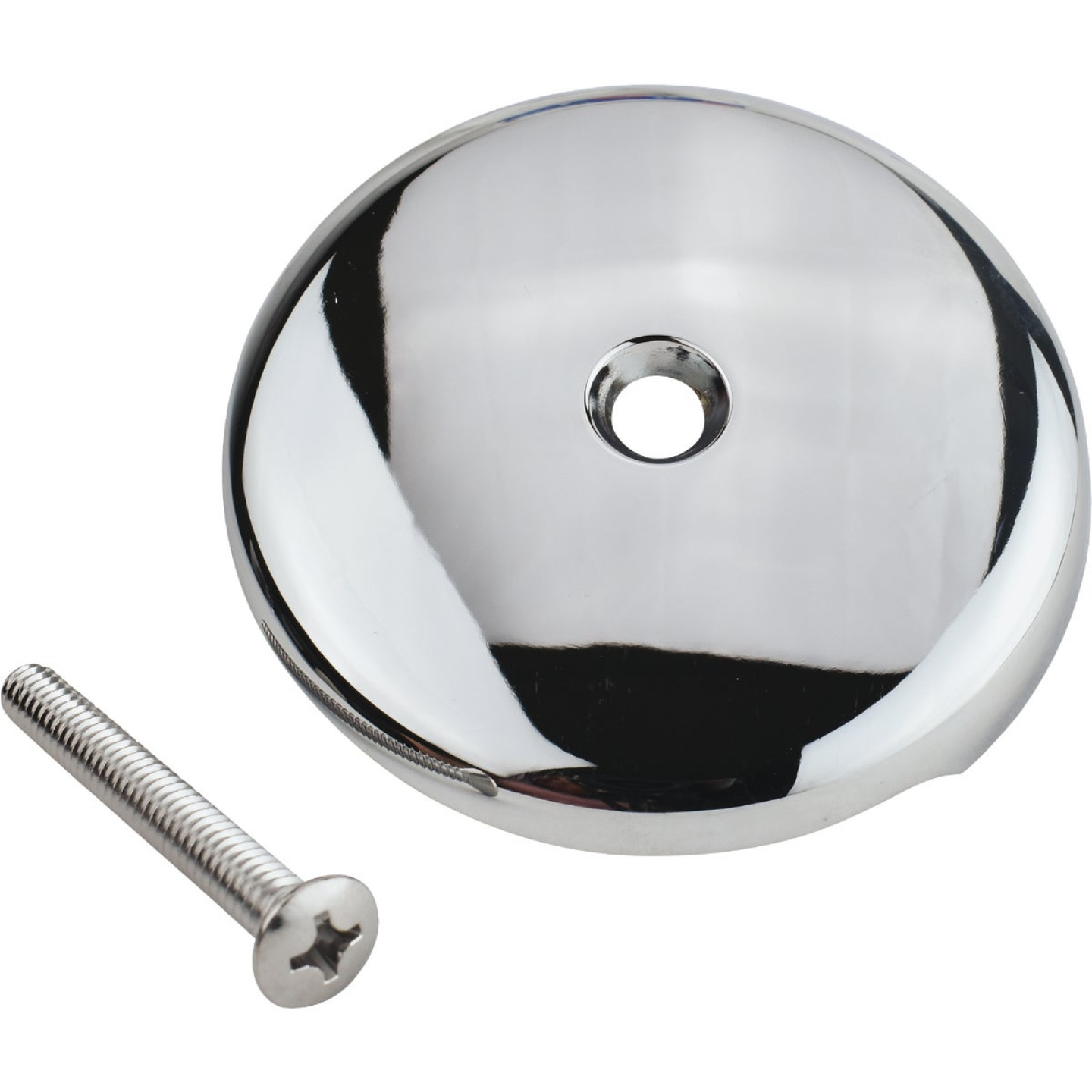Do it One-Hole Chrome Bath Drain Face Plate Image 1