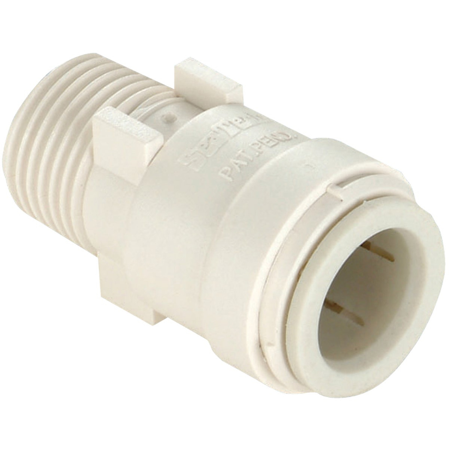 Watts 1/2 In. CTS x 3/8 In. MPT Quick Connect Plastic Connector Image 1