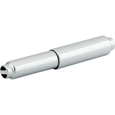 Home Impressions Vista Chrome Plastic Toilet Paper Replacement Roller