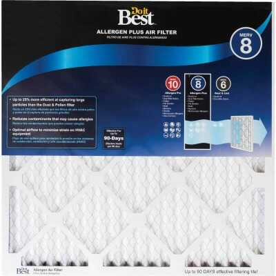 Do it Best 14 In. x 20 In. x 1 In. Allergen Plus MERV 8 Furnace Filter