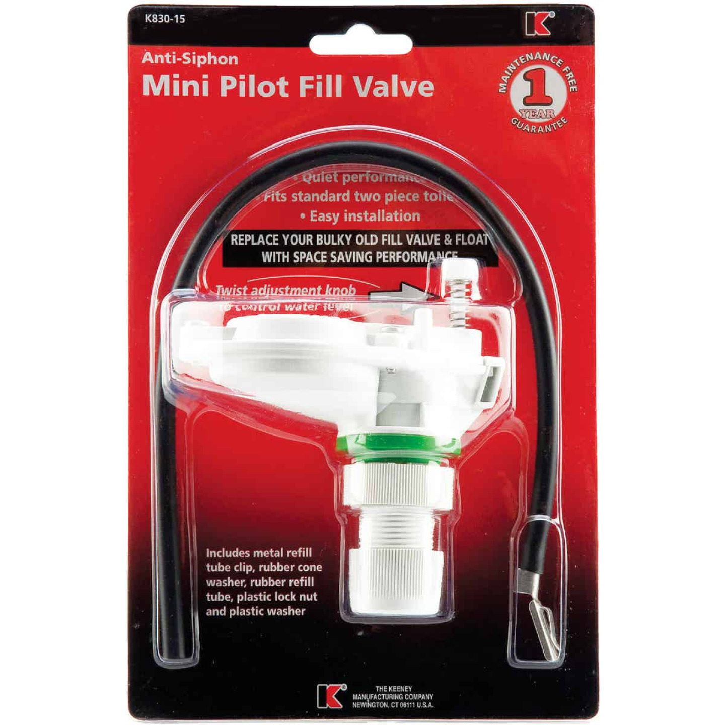 Do it Plastic Toilet Tank Fill Valve  Image 2