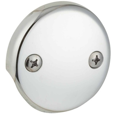 Do it Two-Hole Chrome Bath Drain Face Plate