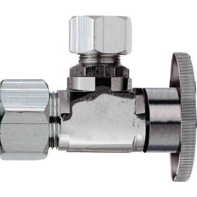 Do it 5/8 In. OD x 7/16 In. Quarter Turn Angle Valve