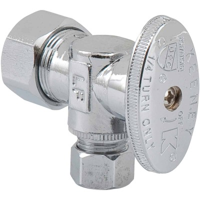 Do it 5/8 In. OD x 3/8 In. OD Quarter Turn Angle Valve