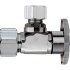 Do it 5/8 In. OD x 1/2 In. OD Quarter Turn Angle Valve Image 1