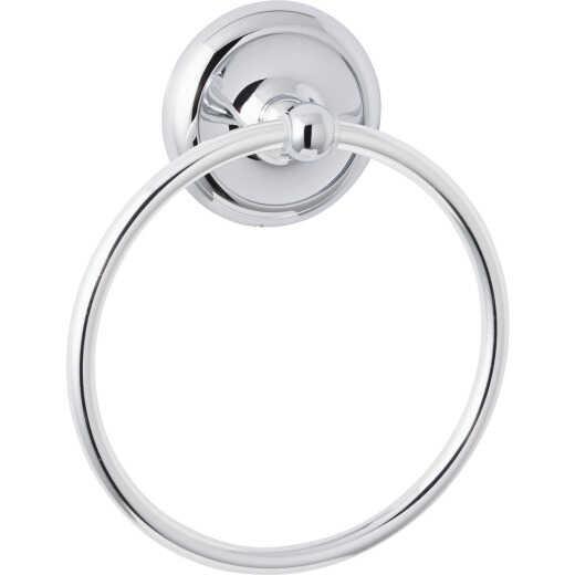 Home Impressions Polished Chrome Towel Ring