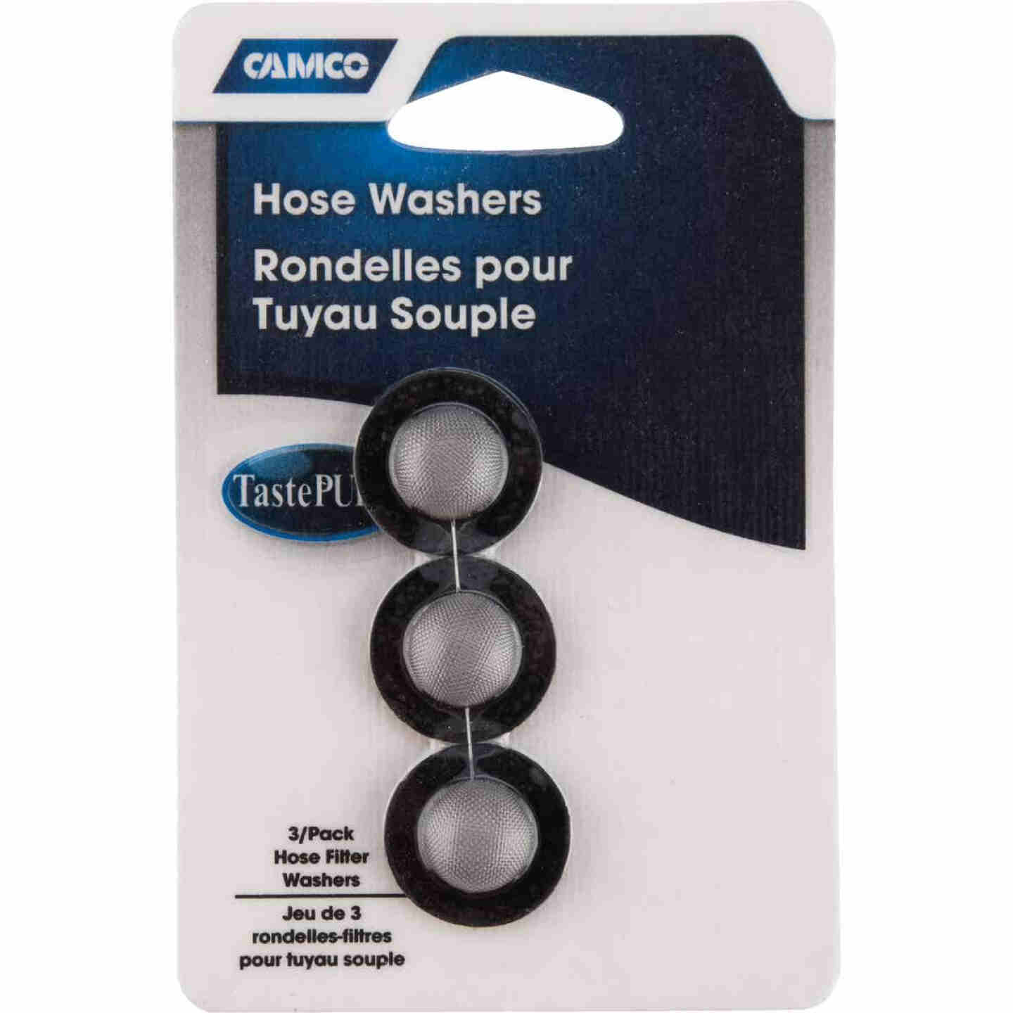 Camco Stainless Steel Mesh 1 In. RV Washer with Filter, (3-Pack) Image 2