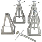Camco Olympian 6000 Lb. Topwind Stabilizing Trailer Jack (4-Pack) Image 1