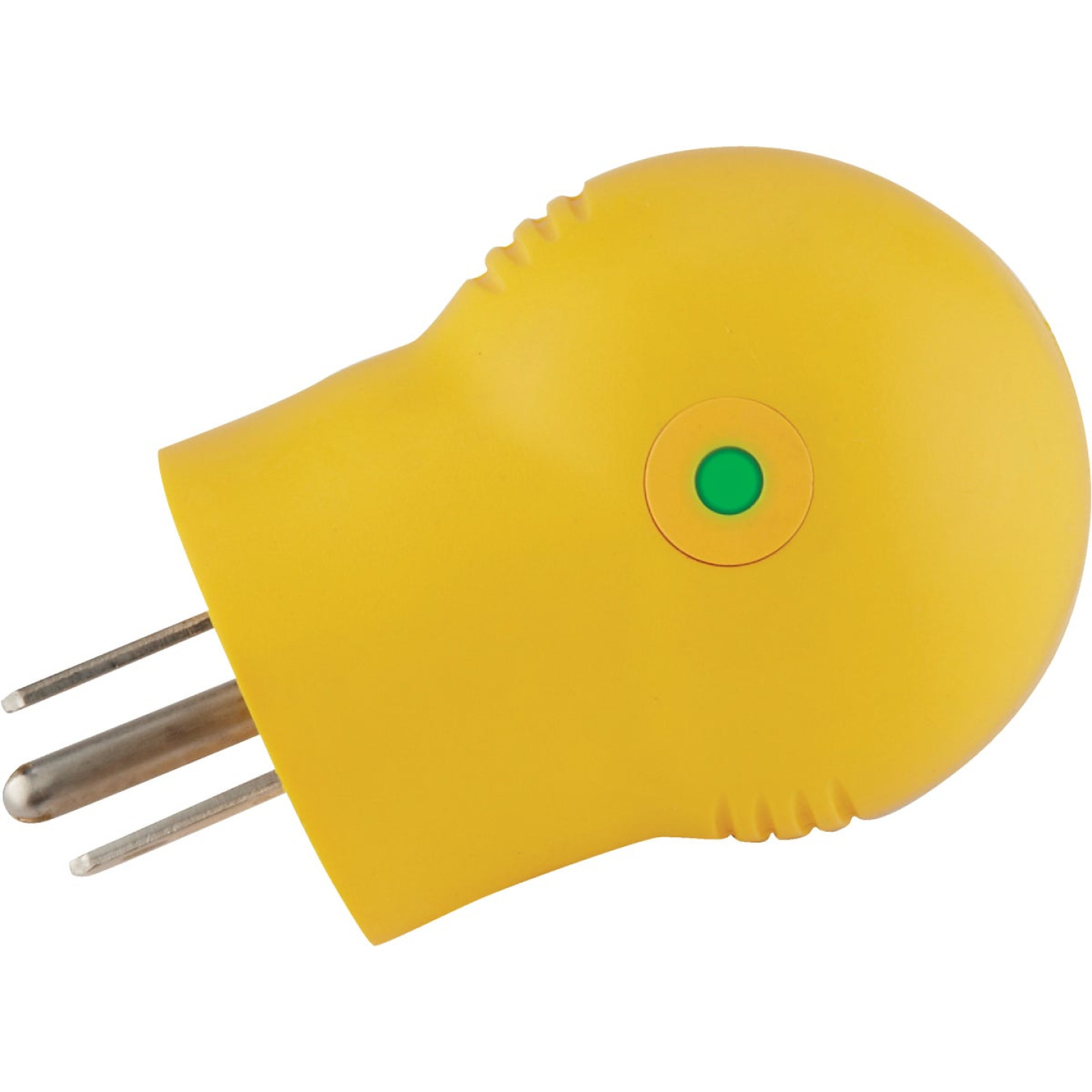 Camco Power Grip 15A Male to 30A Female 90 Deg RV Plug Adapter Image 2