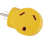 Camco Power Grip 15A Male to 30A Female 90 Deg RV Plug Adapter Image 3