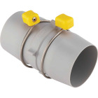 Camco Easy Slip RV Sewer Hose Coupler Image 1