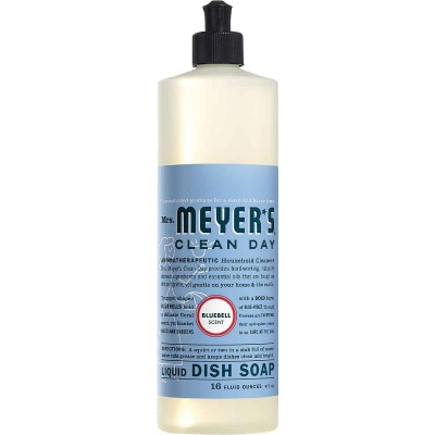 Mrs. Meyer's Clean Day 16 Oz. Bluebell Scent Liquid Dish Soap